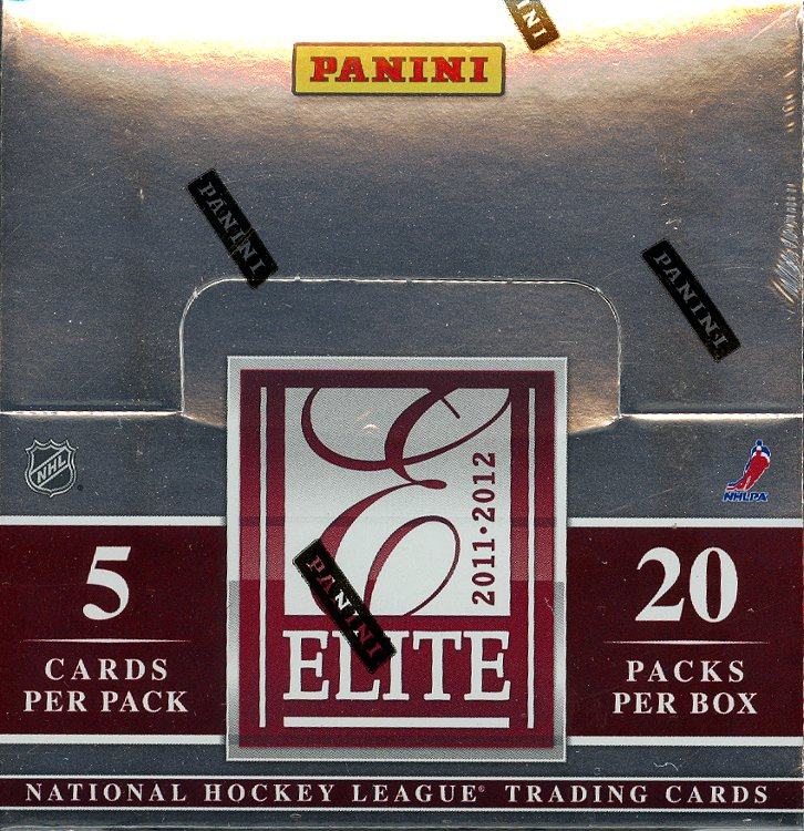 2011-12 Panini Elite Hockey 12-Box Case