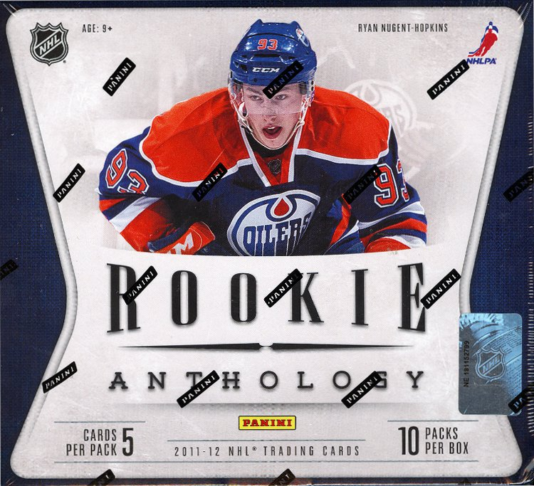 2011-12 Panini Rookie Anthology Hockey 12-Box Case
