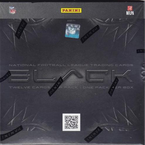 2012 Panini Black Football Box
