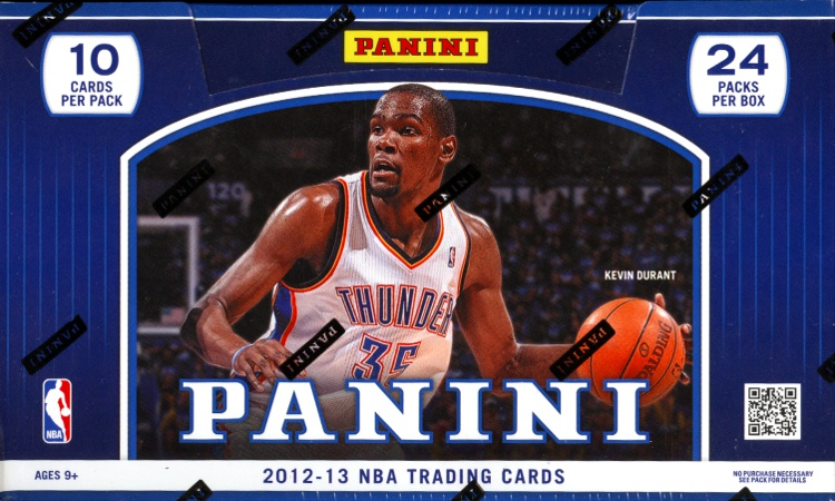 2012-13 Panini Basketball 12-Box Case