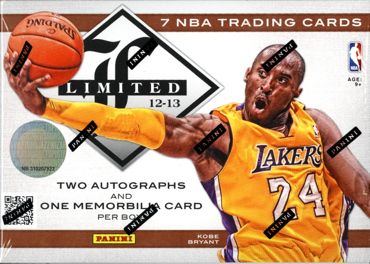 2012-13 Panini Limited Basketball 15-Box Case