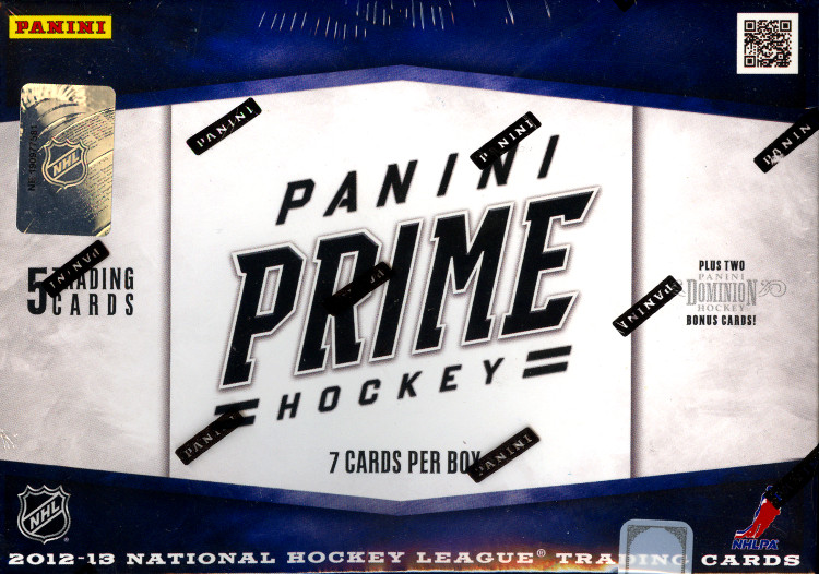 2012-13 Panini Prime Hockey 8-Box Case