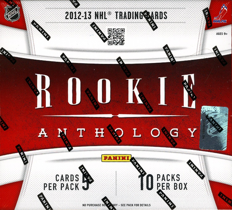 2012-13 Panini Rookie Anthology Hockey 12-Box Case