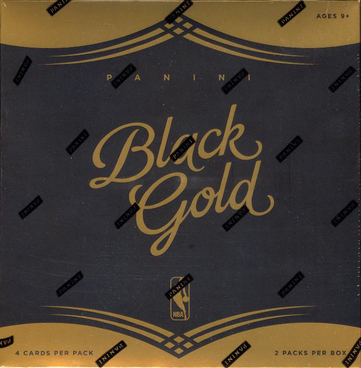 2015-16 Panini Black Gold Basketball Hobby 8-Box Case