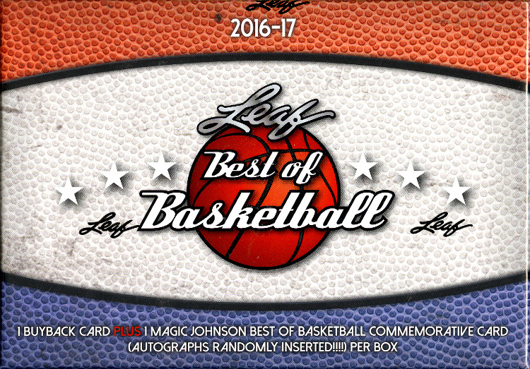 2016-17 Leaf Best of Basketball 5-Box Case