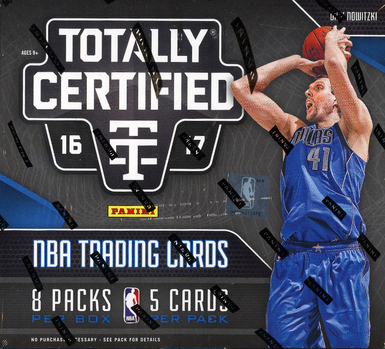 2016-17 Panini Totally Certified Basketball Hobby Box
