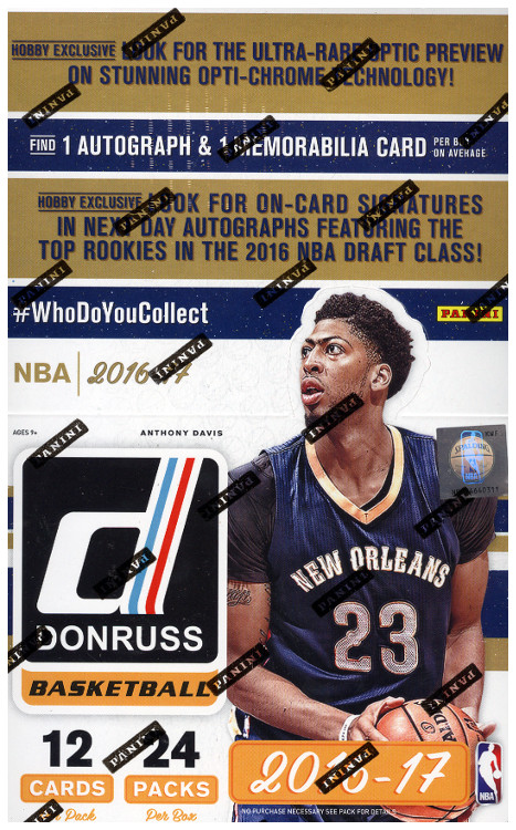 2016-17 Donruss Basketball Hobby Box