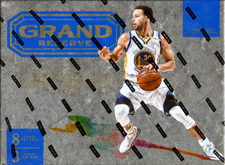 2016-17 Panini Grand Reserve Basketball Hobby 8-Box Case