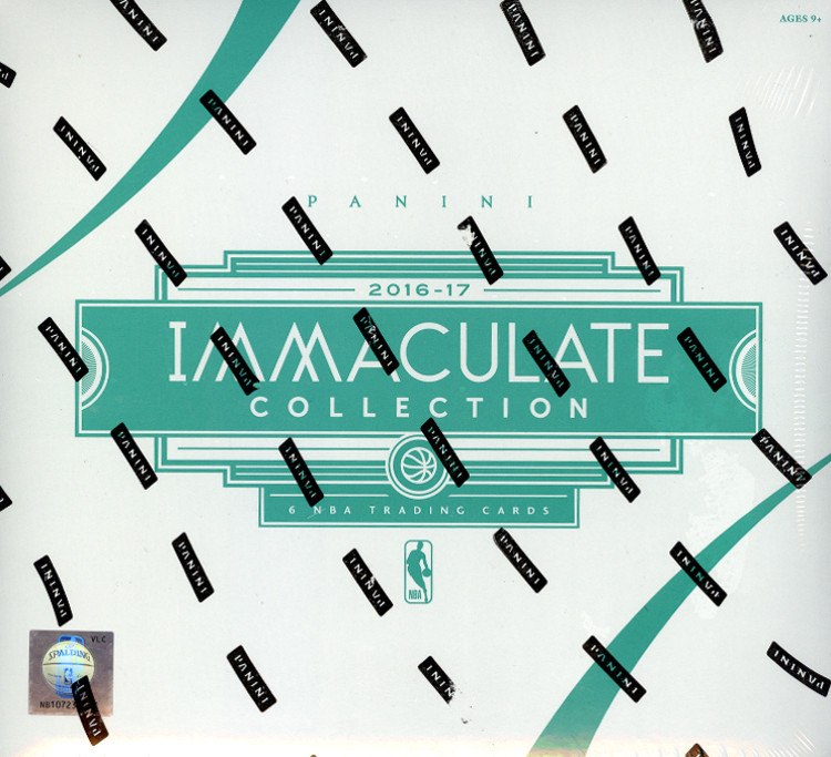 2016-17 Panini Immaculate Basketball 5-Box Case