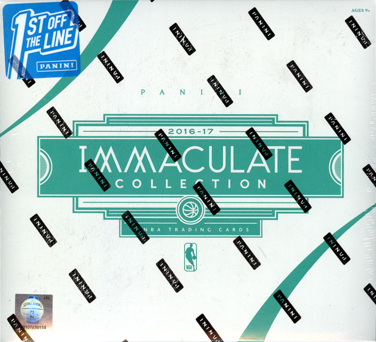 2016-17 Panini Immaculate BK First Off The Line 5-Box Case