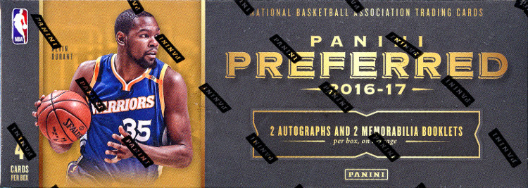 2016-17 Panini Preferred Basketball 8-Box Case