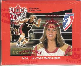 2002 Fleer Ultra WNBA 16 Box Case