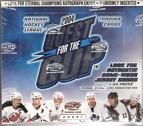 2003-04 Pacific Quest for the Cup Hockey Box