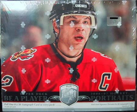 2006-07 Upper Deck Be A Player Portraits Hockey 12-Box Case