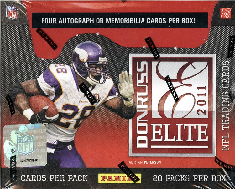 2011 Donruss Elite Football Box
