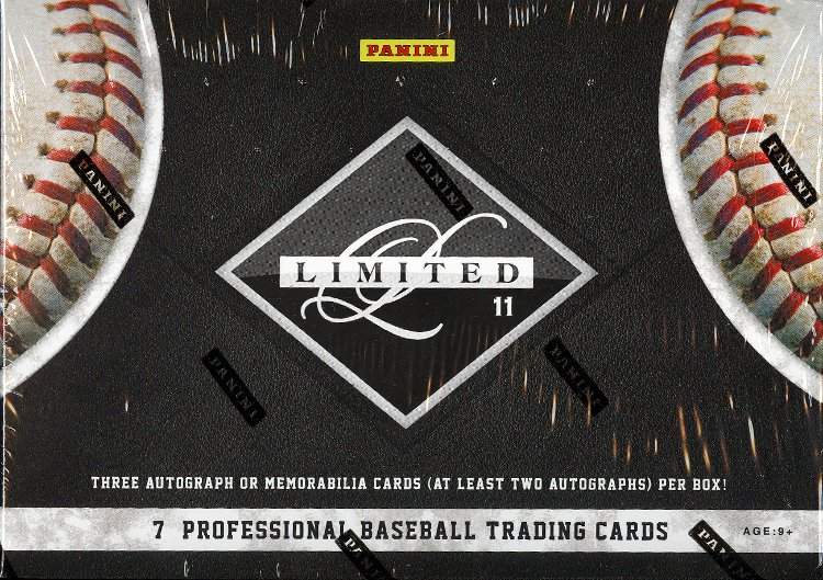 2011 Panini Limited Baseball Box