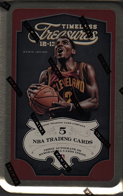 2012-13 Panini Timeless Treasures Basketball 10-Box Case