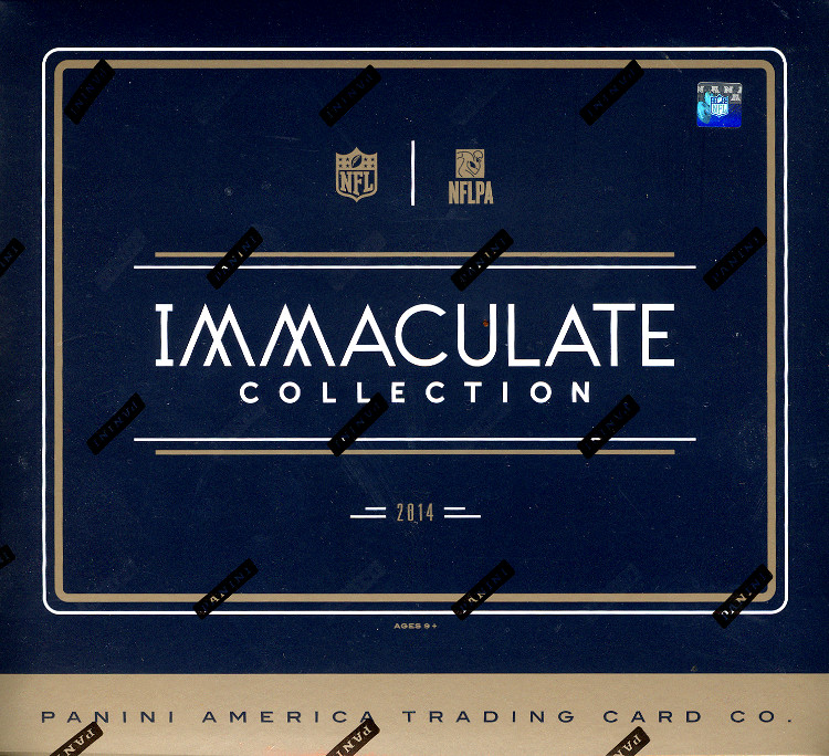 2014 Panini Immaculate Football Box