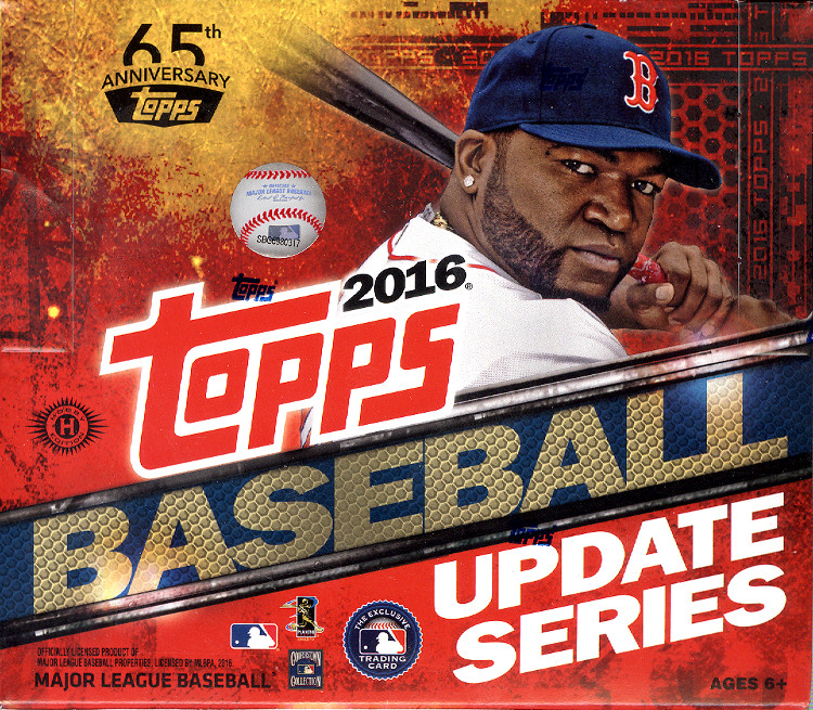 2016 Topps Update Hobby Baseball Box