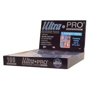 Ultra Pro 6 Pocket Pages 100 ct Box