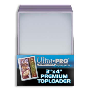 Ultra Pro 3x4 Premium Top Loaders - 25 ct. Pack