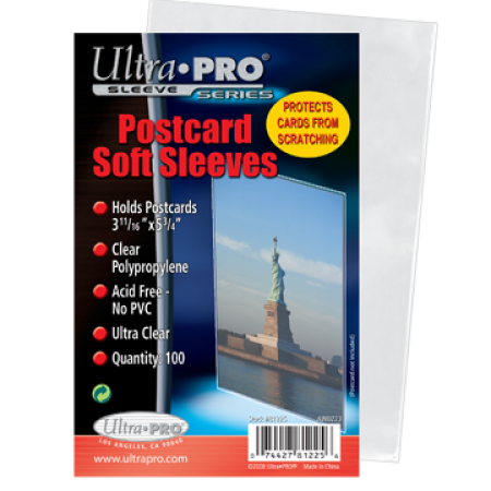 Ultra Pro Postcard Sleeves - Pack