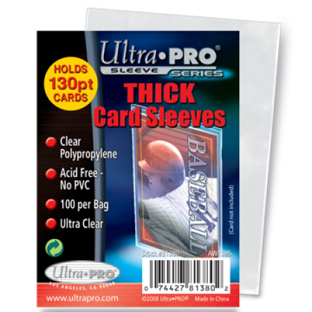 Ultra Pro Thick Card Sleeves - Pack