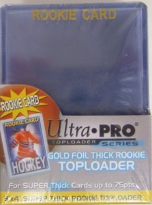 Ultra Pro 3x4 Rookie w/Gold Super Thick - 25ct Pack