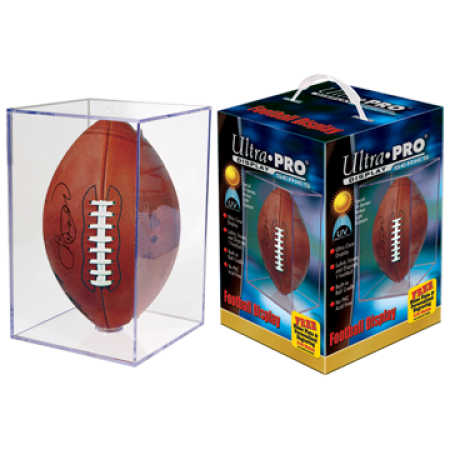 Ultra Pro UV Square Football Holder-6ct Case
