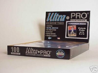 Ultra Pro 8 x 10 Page 10ct Case