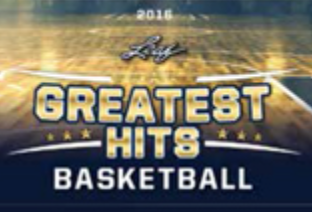 2016 Leaf The Greatest Hits Basketball 2-Box Case