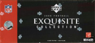 2006 Upper Deck Exquisite Collection Football Box