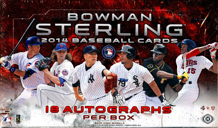 2014 Bowman Sterling Baseball Box