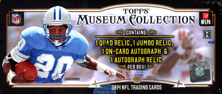 2014 Topps Museum Football Box